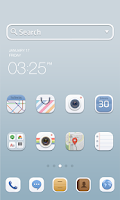 Screenshot of Soft Button dodol theme
