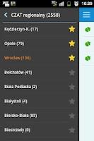 Screenshot of CZATeria - czat, chat online