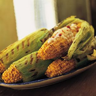Grilled Corn on the Cob (Elote Asado)