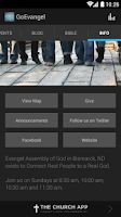 Screenshot of Evangel Assembly of God