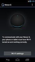 Screenshot of Nexus Q
