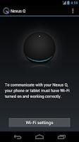 Screenshot of Nexus Q
