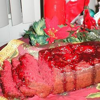 Christmas Strawberry Bread