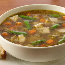 Chiarello's Next Day Turkey Soup