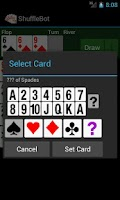 Screenshot of ShuffleBot Hold'em Calculator