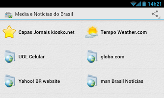 Screenshot of Brazil News and Media