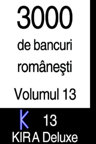 BANCURI 3000 - volumul 13