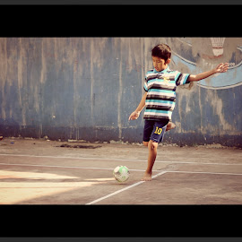 by Panji Anggrahito - Sports & Fitness Soccer/Association football