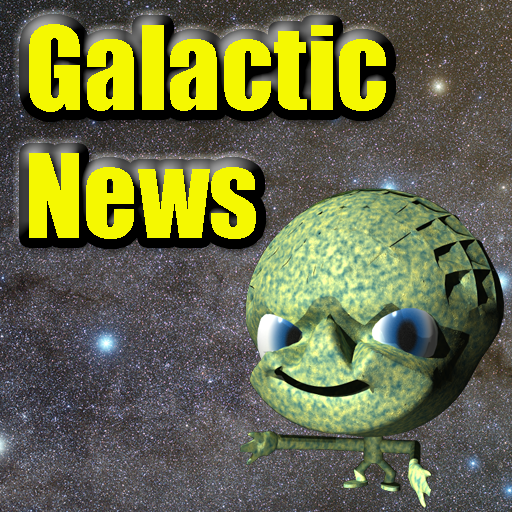 Galactic Headlines LOGO-APP點子