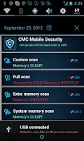Screenshot of CMC Mobile Security