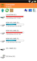 Screenshot of Wifi PC File Explorer Pro
