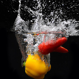 Splash #3 by Rakesh Syal - Food & Drink Fruits & Vegetables