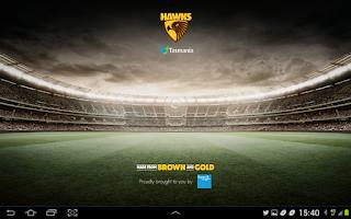 Screenshot of Hawthorn Official App