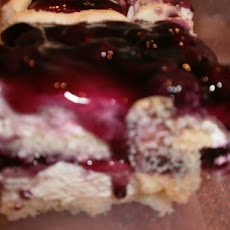Paula's Lime Blueberry Tiramisu