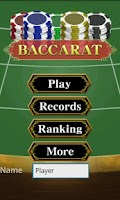 Screenshot of Baccarat