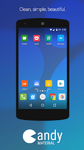 Candy Material Icon Pack Screenshot