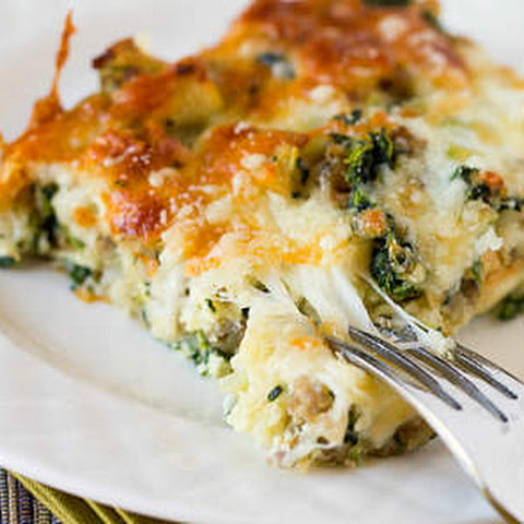 Casserole Recipe With Spinach, Leeks, Cottage Cheese, And Goat Cheese ...