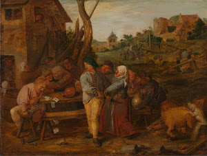RIJKS: Adriaen Brouwer: painting 1630