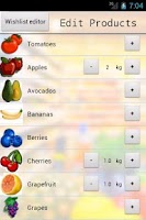 Screenshot of Grocery Organizer