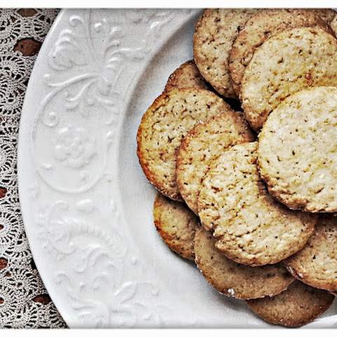 Honey and Tonka Bean Whole Wheat Cookies