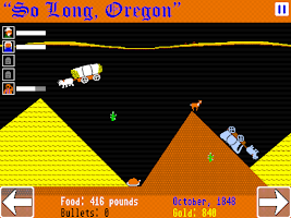 Screenshot of So Long, Oregon!