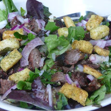 Marinated Steak Salad