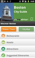 Screenshot of Boston City Guide