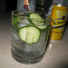 Cucumber Gin and Tonic