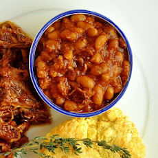 Maple Chipotle Barbeque Baked Beans