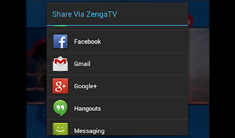 Screenshot of ZengaTV: Mobile TV Live TV