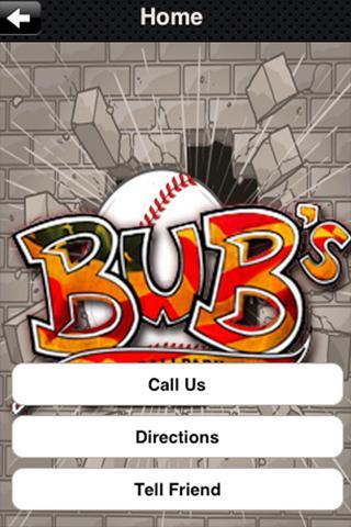 Bubs at the Ballpark