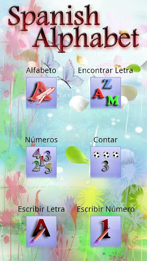 Spanish Alphabet and Numbers