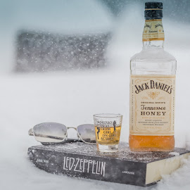 Never give up! by Idival Junior - Food & Drink Alcohol & Drinks ( music, winter, snow, blizzard )