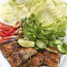 Thai Red Curry Mahi Mahi Salad