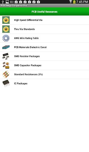PCB Design Companion Pro - screenshot