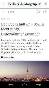 Berliner Morgenpost - News - screenshot
