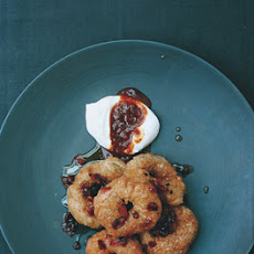 Turkish Doughnuts with Rose Hip Syrup