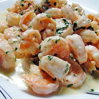 Spiced Shrimp in Lemon-Ginger Sauce