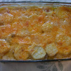 Seriously Comforting - Ground Beef, and Taters' Casserole