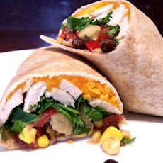 Chili-Lime Chicken and Avocado Wraps