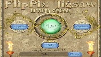 Screenshot of FlipPix Jigsaw - Living Color