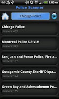 Screenshot of Police Scanner 5-0