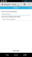 Screenshot of EasySal Salary Calculator