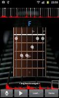 Screenshot of Guitar Music Analyzer