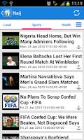 Screenshot of Nigeria News