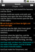 Screenshot of Holy Bible (ASV)