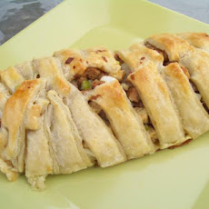 Stuffing in Puff Pastry