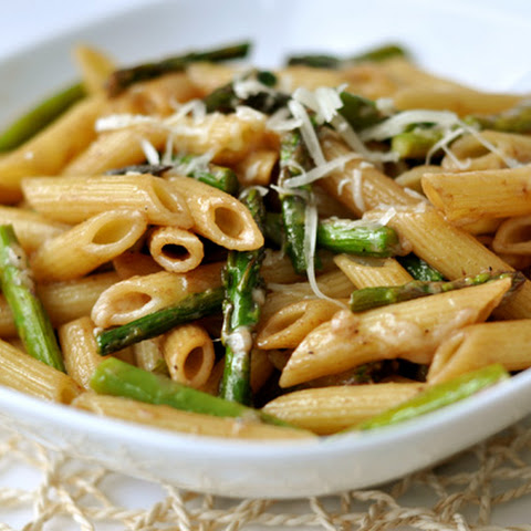 Roasted Asparagus With Balsamic Vinegar And Parmesan ...