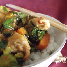 Stir-Fry Chicken W/Asian Flavors