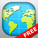 World Map 2016 FREE icon